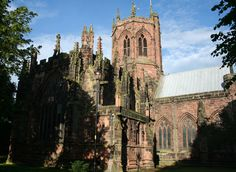 St Mary's church, known as the cathedral of South Cheshire.