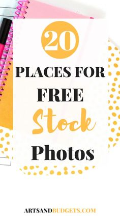 Hey! Have you ever wondered how other bloggers get high-quality photos for their blogs? If so, you are in the right place! n my latest post, I share 20 ROCKSTAR places online that have free high-quality photos that you can use for your blog and/or biz!
