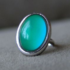 1970s Fancy Mood Ring RARE Large Plain 230. $12.00, via Etsy.