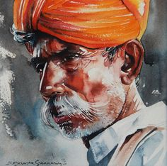 Rajkumar Sthabathy   WATERCOLOR