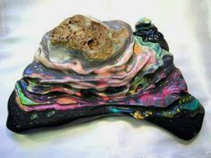 1200gr or 6000 ct Largest Freeform Black Opal In The World
