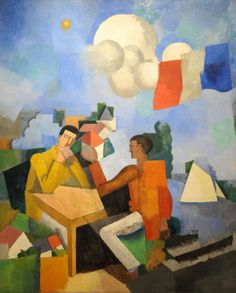 Roger de La Fresnaye. The Conquest of the Air. 1913. MoMA, NYC | by renzodionigi