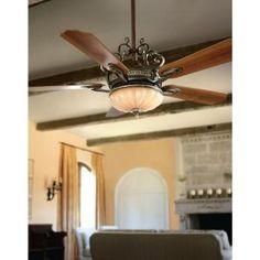 hampton bay chateau deville 52 in deville walnut ceiling fan 34012 at