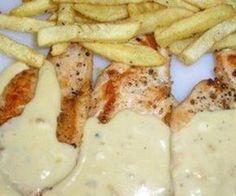Pechugas de Pollo en Salsa de Queso :: Recetas de Cocina – Ricas recetas sencillas y rapidas.
