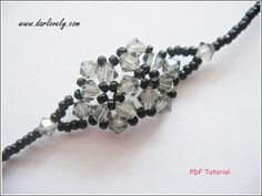 Anniversary Special! Enjoy 15% off with purchase of 3 or more tutorials. Simply use the coupon code <15off3> during checkout to enjoy.   This bracelet tutorial includes details, easy step by step instructions with colour photos/pictures and all of materials list. The bracelet is made using seed beads and bicone which are easily available.  Time required approximately 1 hr 30 min  Number of pages 14 Number of Steps 33  Skill Level: Beginner/Intermediate  This tutorial is for yo...