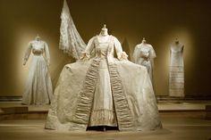 White Dresses - paper dresses by Isabelle de Borchgrave