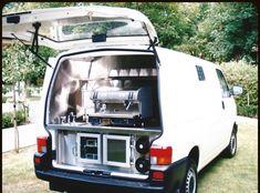 Bare Back of a Van