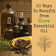 20 Ways To Benefit from Clove Essential Oil