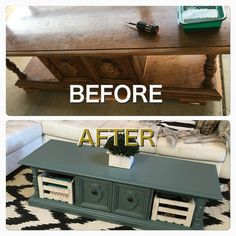 Vintage furniture makeover antiques coffee tables Ideas for 2019 - Interior Decoration Accessories coffee tables Refurbished Coffee Tables, Antique Coffee Tables, Coffee Table Makeover, Diy Coffee Table, Diy Table, Coffee Cafe, Furniture Makeover, Diy Furniture, Repurposed Furniture