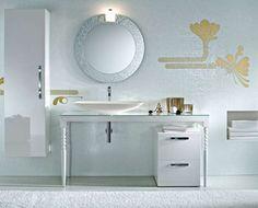 Piastrelle per bagno classico - Rivestimento mosaico