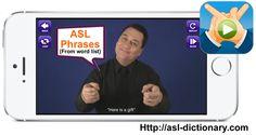 ASL Translator App. ASL Phrases
