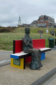 Guido Metsers, Mondriaanbank, Domburg, Zeeland.