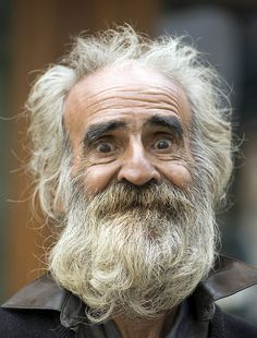 Cuba, old man, beard, eyes, beautiful face, lines of life, portrait, photo
