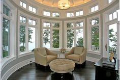 Have always like round rooms!
