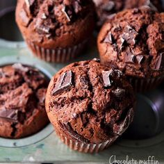 Sweets Recipes, Muffin Recipes, Baking Recipes, Valentines Baking, Valentines Sweets, Cap Cake, Bread Cake, Chocolate Muffins, Desserts To Make