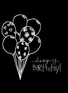 New Chalkboard Art Quotes Birthday Ideas Chalkboard Doodles, Chalkboard Art Quotes, Blackboard Art, Chalkboard Drawings, Chalkboard Lettering, Chalkboard Designs, Happy Birthday Black, Happy Birthday Greetings, 30 Birthday