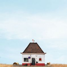 The Whimsical, Colorful 'Lonely Houses' of Portugal | Mimosa, Portugal | Credit: sejkko | From Wired.com