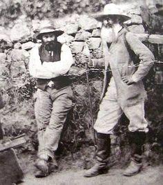 Paul Cezanne y Camille Pissarro