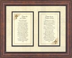 Prayer for Pastor and Pastor's Wife Heartfelt Appreciation Christian Sentiments 3-d Jewel with Pearlized Background Framed Print, Brown (17x14) by Heartfelt, http://www.amazon.com/dp/B009C972RE/ref=cm_sw_r_pi_dp_sSYvqb101GZFD $37.74