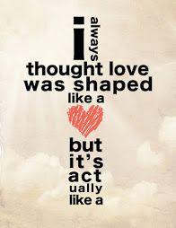 Love Shaped Like a Cross