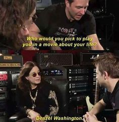 Ozzy Osbourne is a God and we should all pray to him