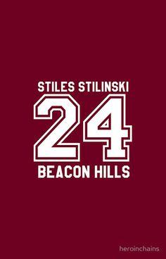 Stiles Stilinski #24