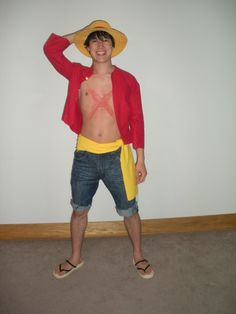Luffy New World #cosplay