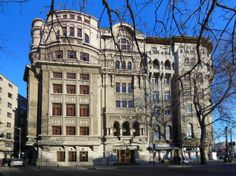 Romanian Youth Palace (Palatul Tinerimea Română), built between 1924-1927 by Virginia Andreescu Haret (1894-1962), first Romanian licensed woman architect