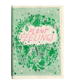 Plant feelings? Intrieguing title and a really precise design