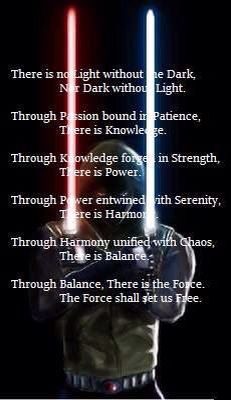 The grey Jedi code                                                                                                                                                                                 More