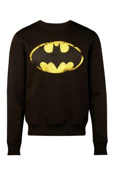 Primark - Jersey negro cuello redondo de Batman