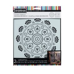 DIY Home Lace Accent Stencils by ArtMinds®