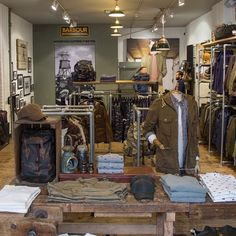 Our Barbour Spitalfields retail store is fully kitted out and ready to go with the latest from our Summer 2015 collections.