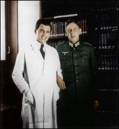 Mengele at the Kaiser Wilhelm institute... by Stuka1911.deviantart.com on @deviantART