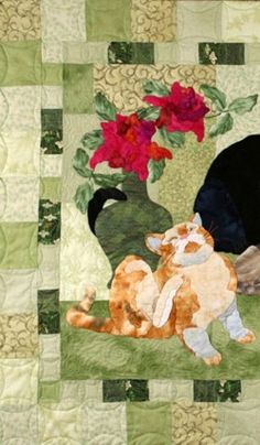 HOUSE CATS quilt pattern