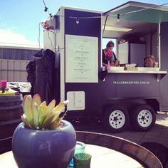 Trailer Made Food Melbourne Food, Artisan Food, Food Trucks, Street Food, Food To Make, Tasty, Bike, Foods, Coffee
