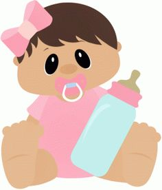 baby girl holding bottle--------------------------------I think I'm in love with this shape from the Silhouette Online Store!