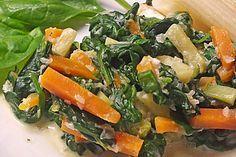 Mangold - Möhren - Gemüse, ein beliebtes Rezept aus der Kategorie Dünsten. Bewertungen: 137. Durchschnitt: Ø 4,4.