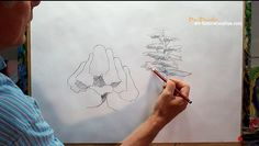 How to Draw Trees - Simply - YouTube