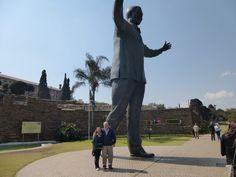 New #Mandela statue Union Buildings Pretoria South Africa