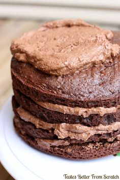 Chocolate Mousse Cake - to.die.for!!!!