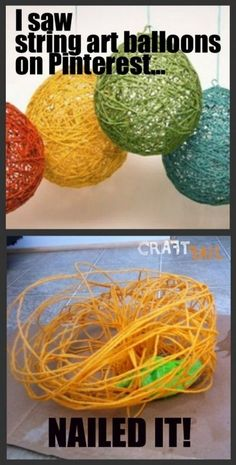 Did it, that's what happened hahaha.15 funny Pinterest craft Fails