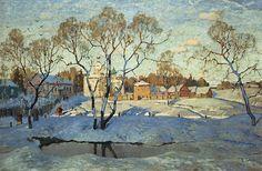 Konstantin Gorbatov , art, painting