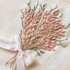 Wonderful Ribbon Embroidery Flowers by Hand Ideas. Enchanting Ribbon Embroidery Flowers by Hand Ideas. Hand Embroidery Patterns Flowers, Crewel Embroidery Kits, Embroidery Transfers, Learn Embroidery, Silk Ribbon Embroidery, Hand Embroidery Designs, Vintage Embroidery, Machine Embroidery, Embroidery Needles