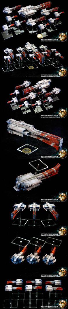 Spartan Games Dindrenzi starter Fleet - Firestorm Armada