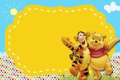 Kit digital Ursinho Pooh grátis para imprimir! Image