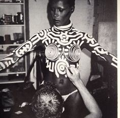 Grace Jones & Keith Harring