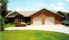 House Plan 59848 | Traditional Plan with 1520 Sq. Ft., 3 Bedrooms, 3 Bathrooms, 2 Car Garage