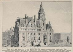 William Clark Mansion at 5th Avenue and 77th St.  | 1889 Victorian House Restoration