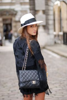 Chanel Black Caviar Jumbo Classic Single Flap